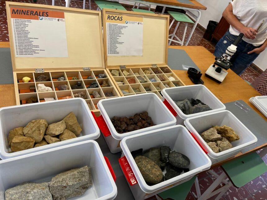 Rocas y minerales en Ecolab